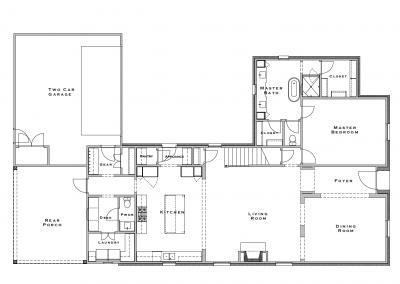 1105 Hayne Road First Floor